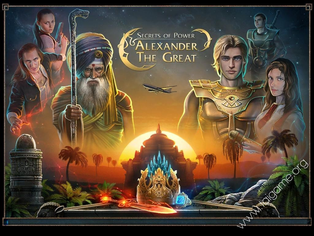 Secrets of power alexander the great ce rus