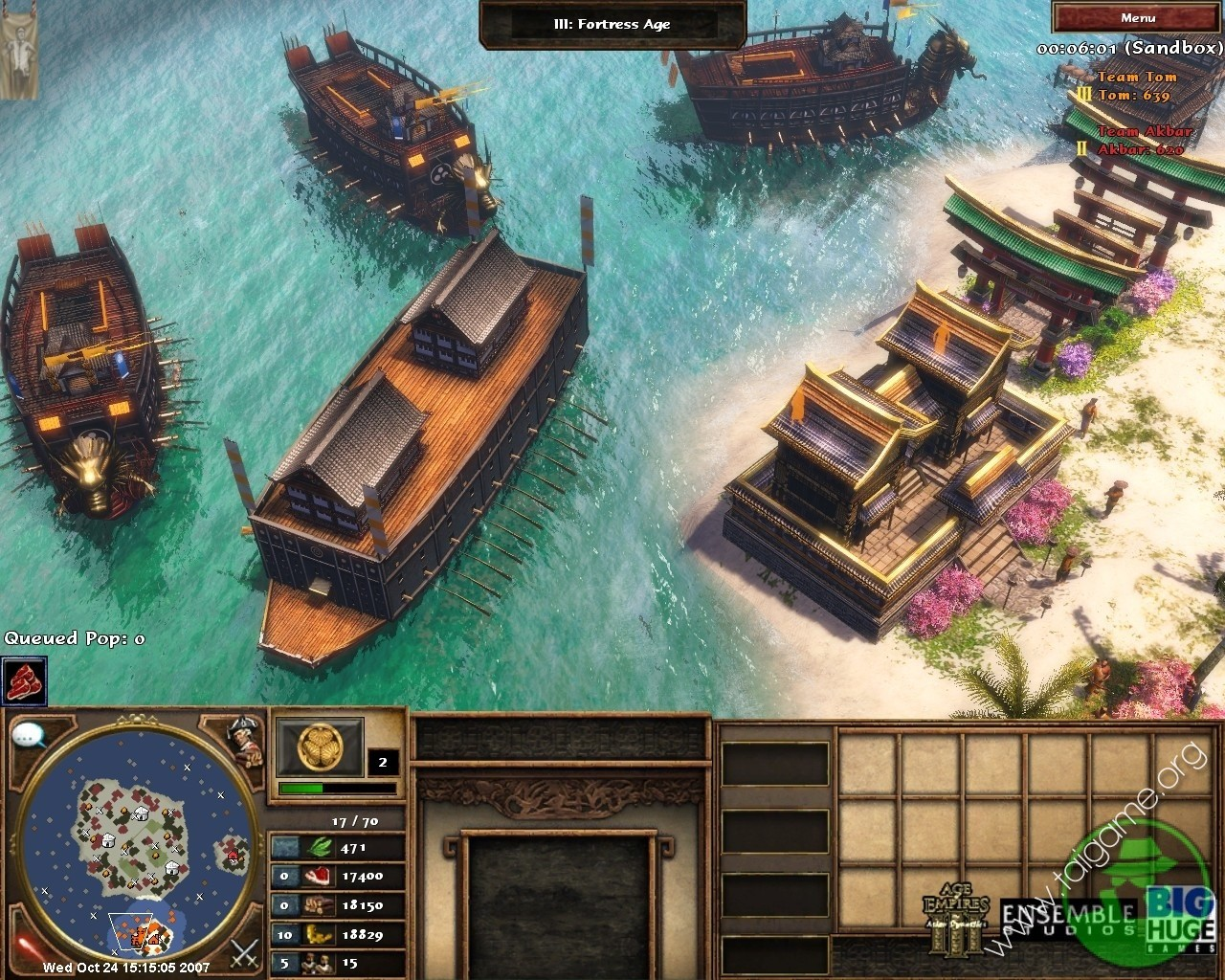 ... Age of Empires III: The Asian Dynasties picture5 ...