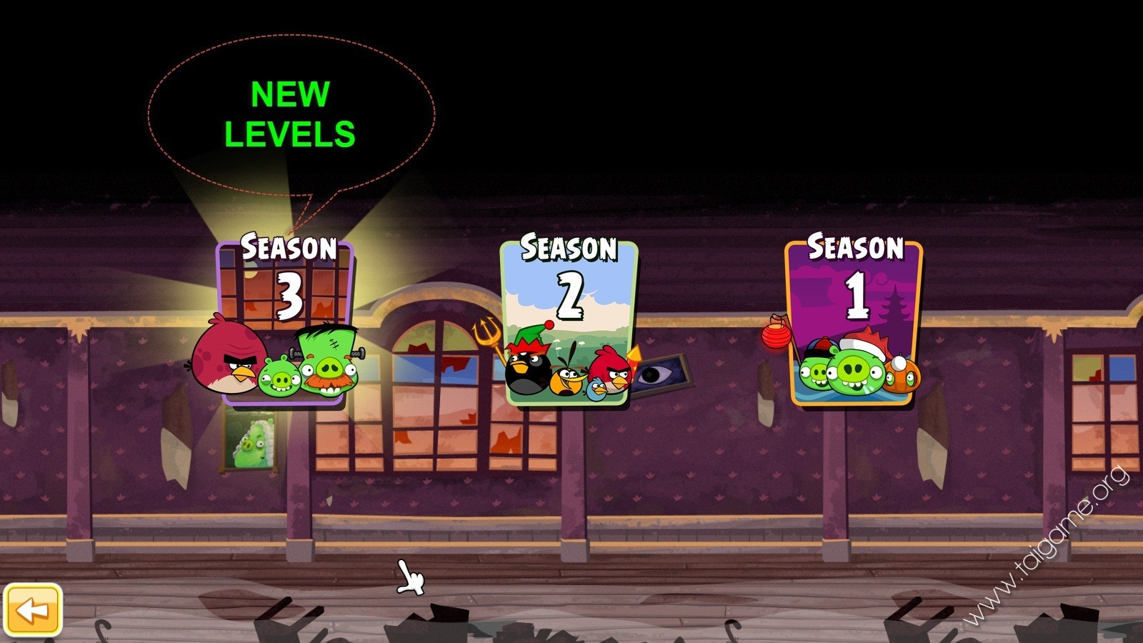 Completely Free Background Check >> Angry Birds Seasons: Haunted Hogs - Download Free Full ...