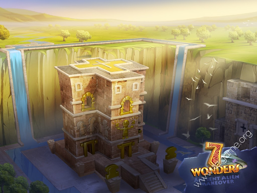 7 wonders ancient alien makeover 2012 pc game