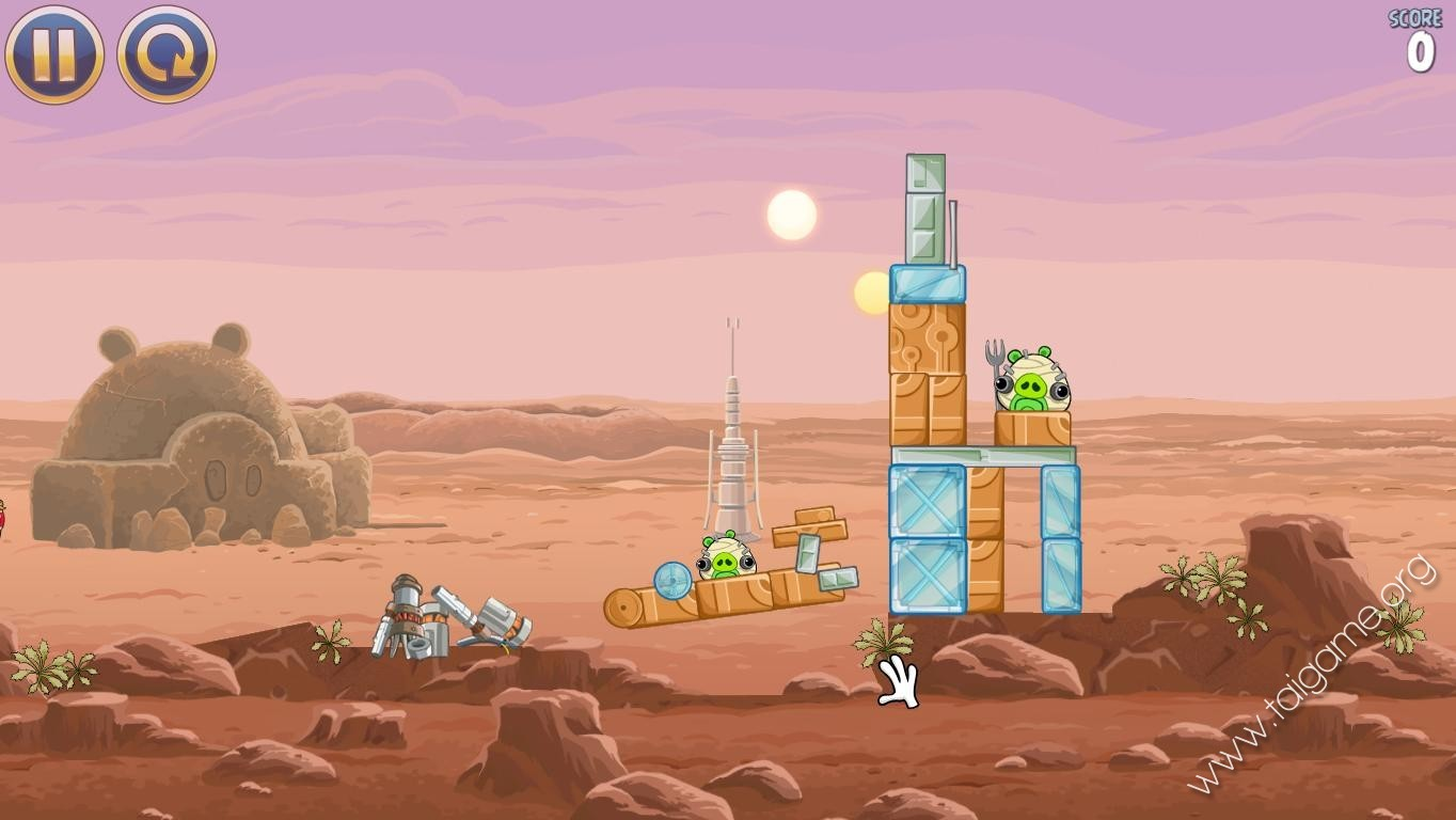 Angry birds star wars download free full games brain - Angry birds star wars 7 ...
