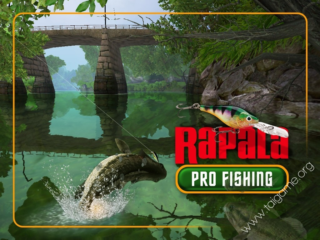 Rapala pro fishing download free full games arcade for Pro fishing games
