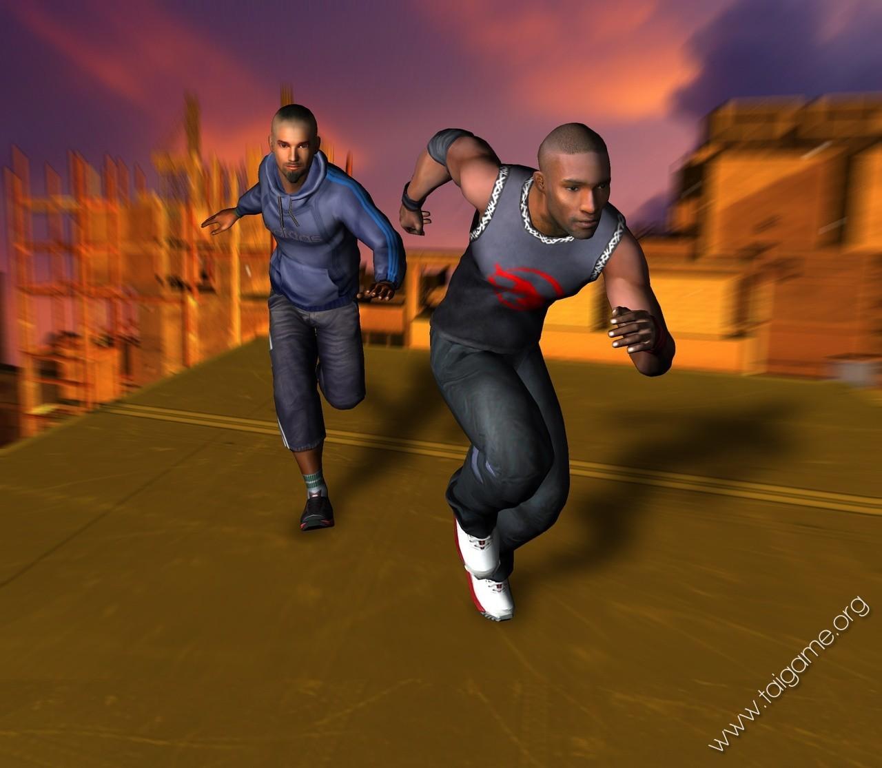 Free Running Flash Game
