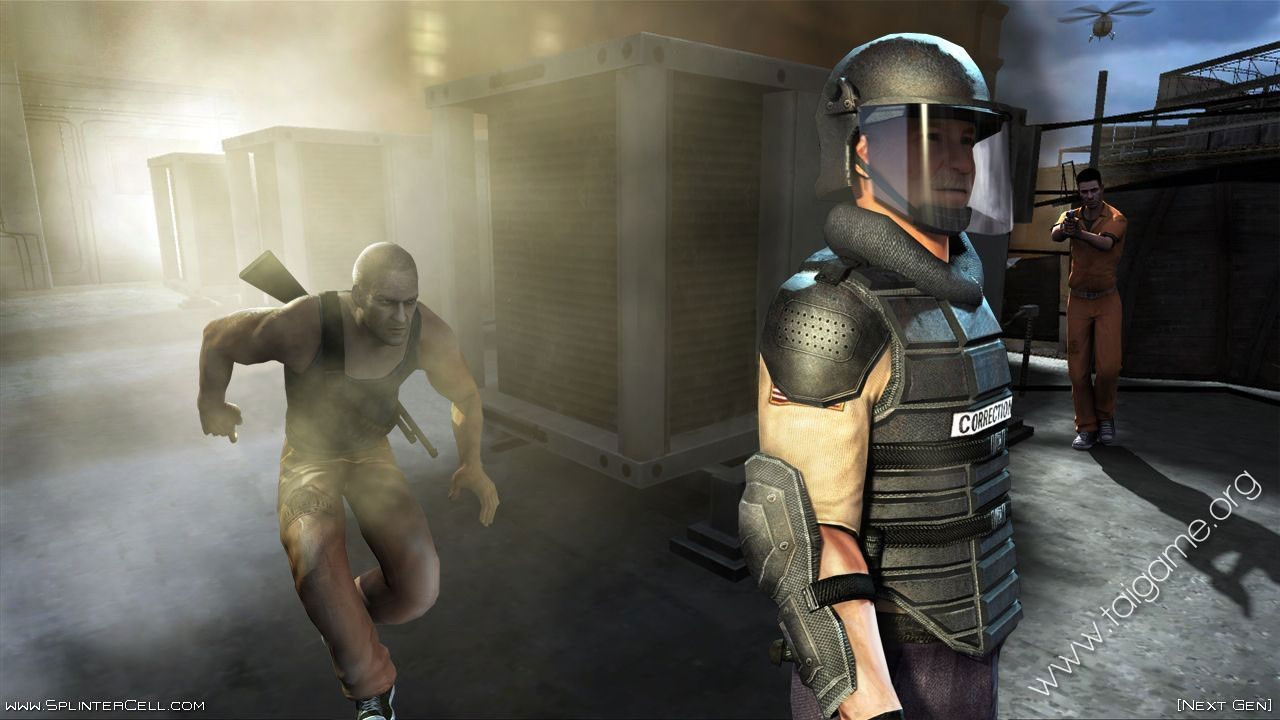 Tom Clancys Splinter Cell Double Agent - Download Game PC Iso New Free