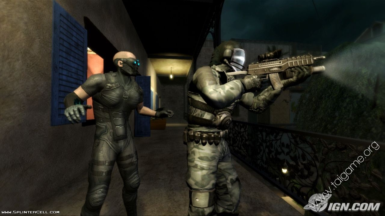 Tom clancy s splinter cell conviction hd wvga 480x800