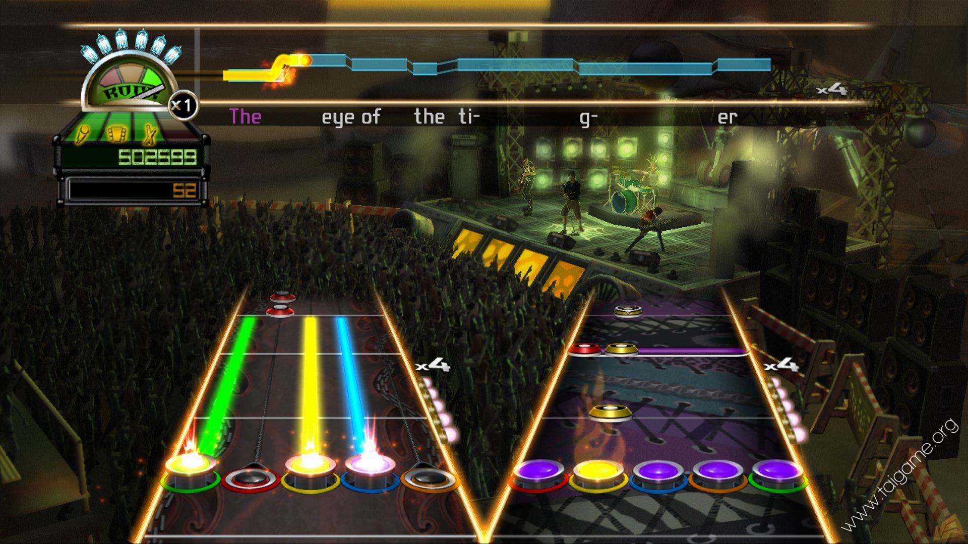 Guitar Hero World Tour Wii Songs