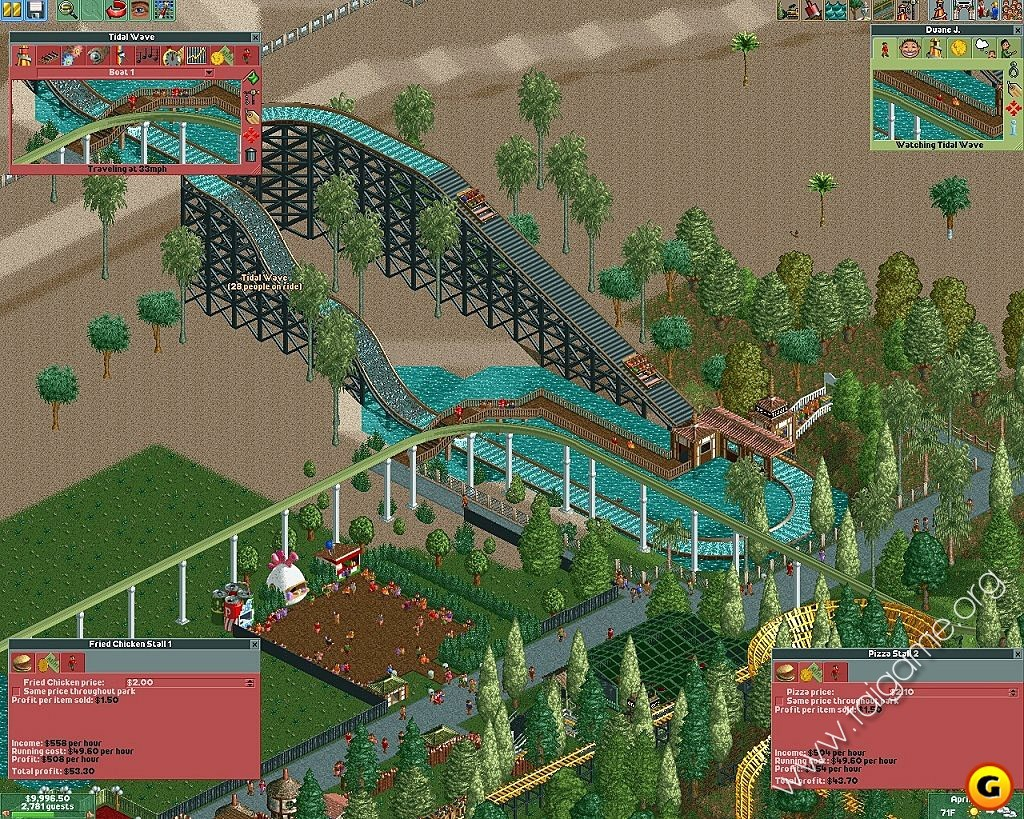 RollerCoaster Tycoon 2 - Tai game | Download game Mô phỏng
