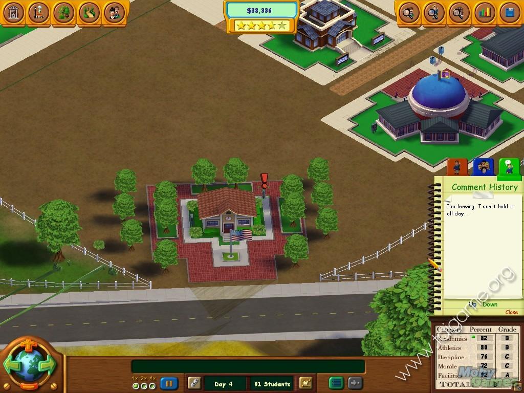 Game school tycoon
