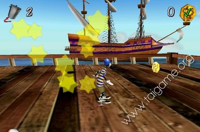 goofy skateboarding