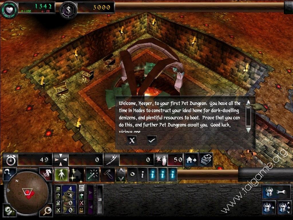 Dungeon Keeper Flash Game