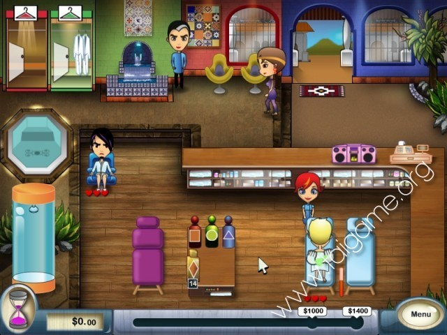 Spa mania download free full games time management games for Salon games free download