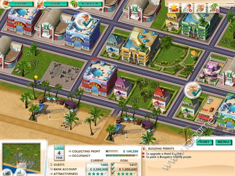 flirting games at the beach hotel miami