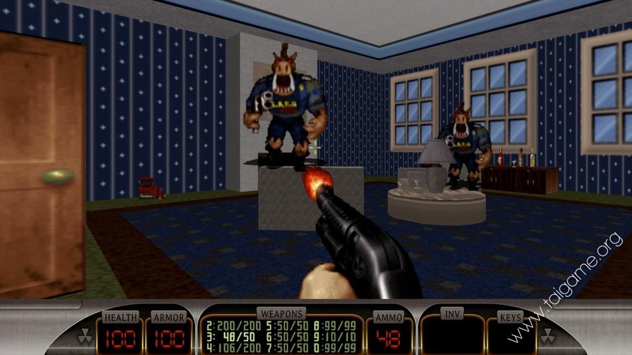 Duke Nukem 3d Flash