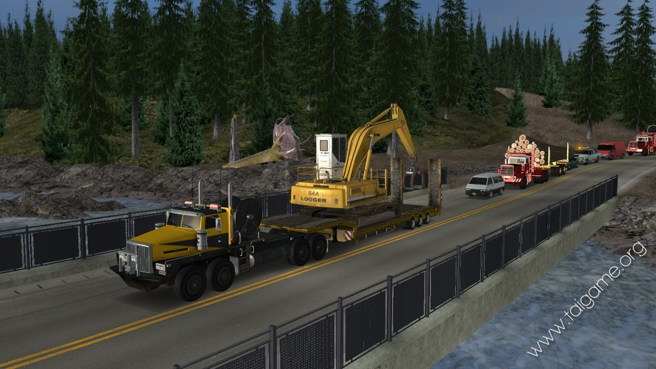 Play Free Game Trucker 2