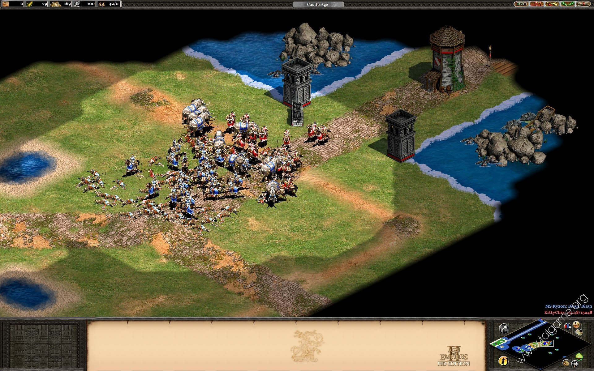 Age of Empires II HD The Forgotten Update V3 8