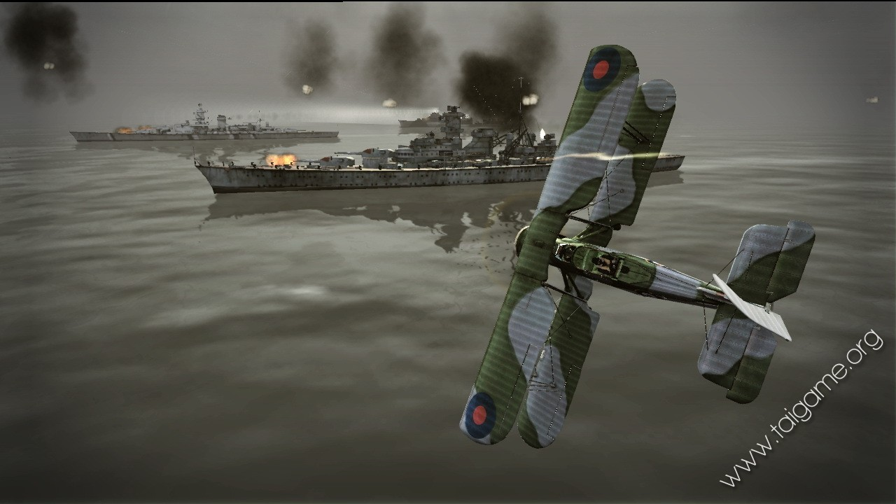 Dogfight over europe