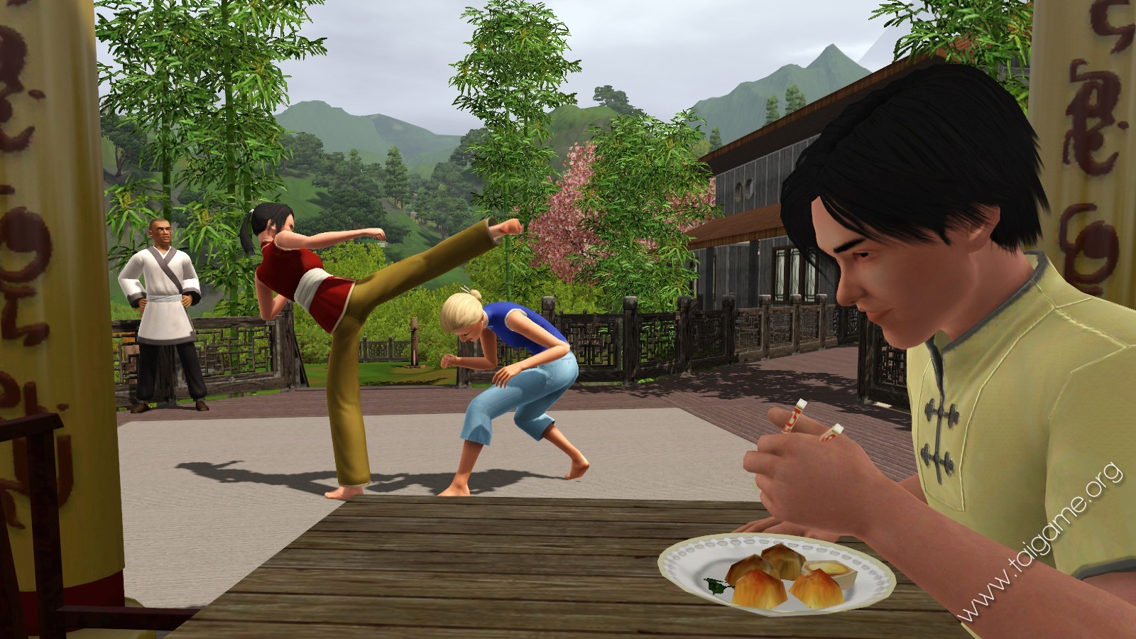 The Sims 3 World Adventures Game ScreenShots