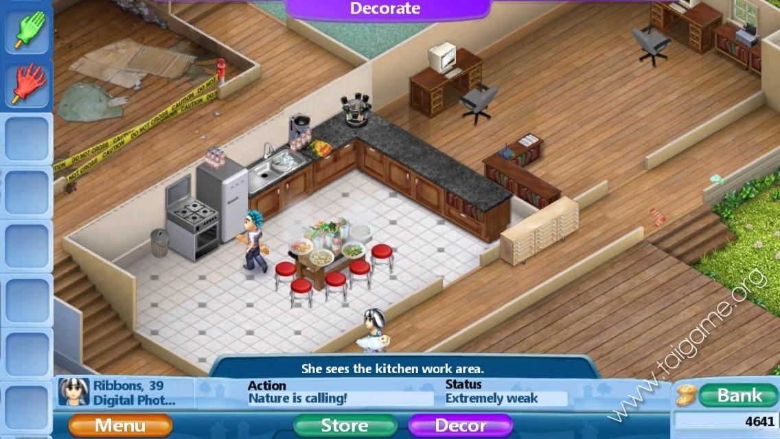 Virtual Families  Career Room Upgrades
