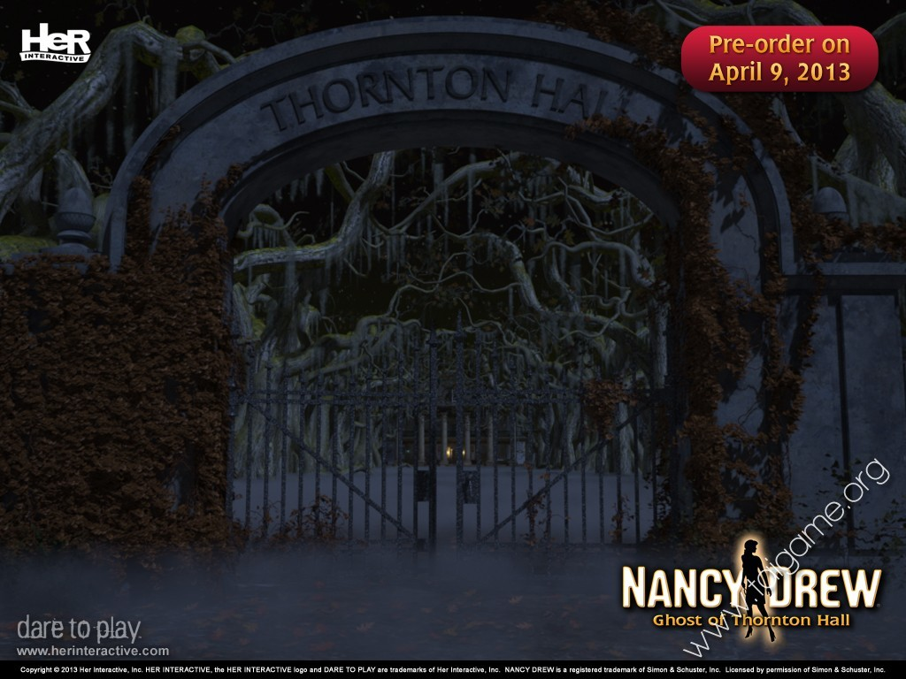 Nancy drew ghost of thornton hall free game download