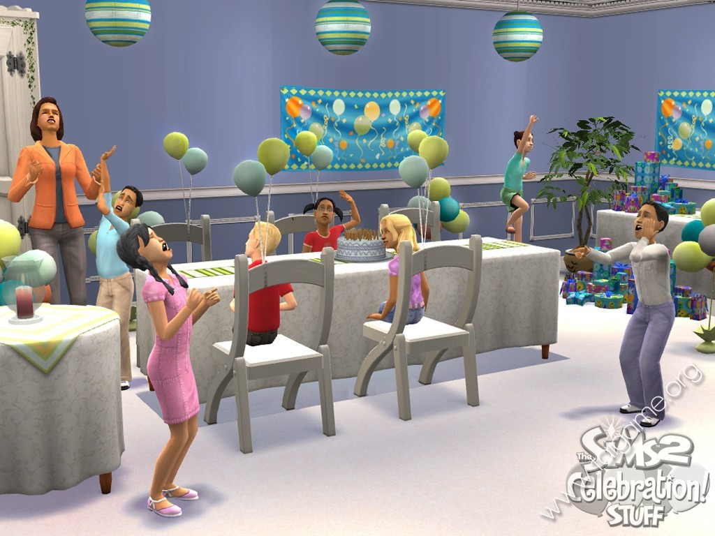 Sims 2 stuff pack expansion