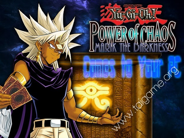yu-gi-oh power of chaos marik the darkness pc