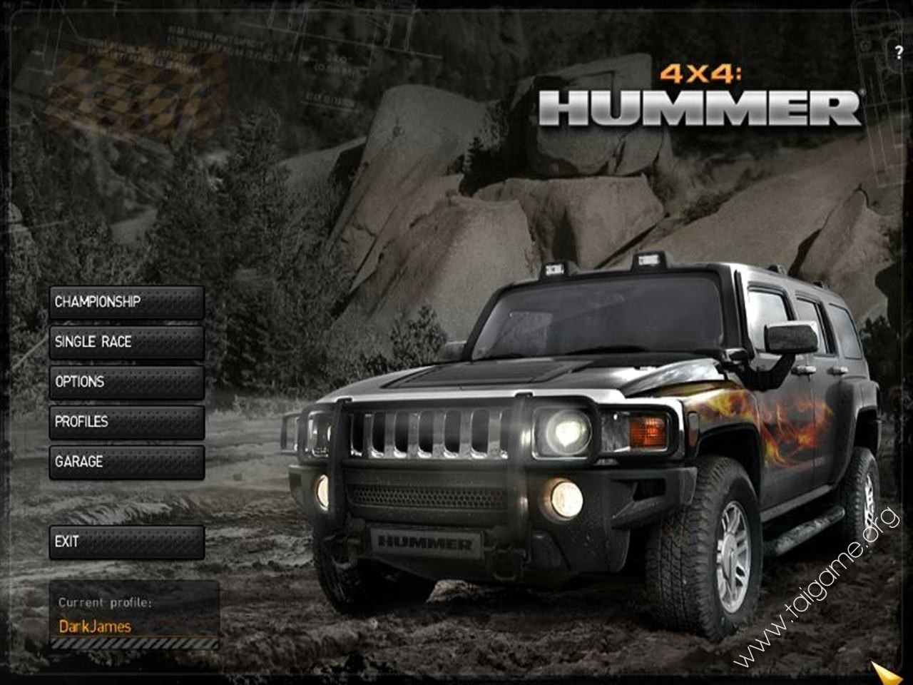 4x4 hummer download free full games racing games. Black Bedroom Furniture Sets. Home Design Ideas