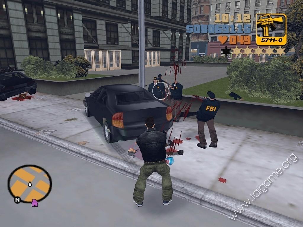 GTA Grand Theft Auto III - Download Free Full Games