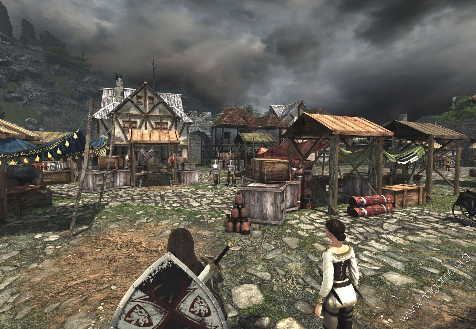 The First Templar Game Trailer/ScreenShots
