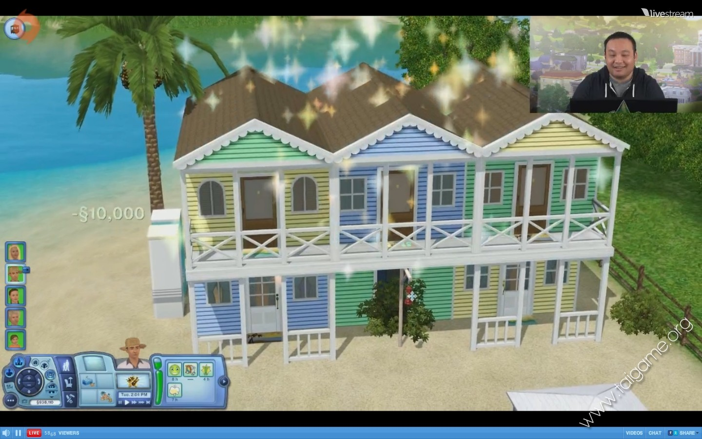 how to get the sims 3 island paradise free