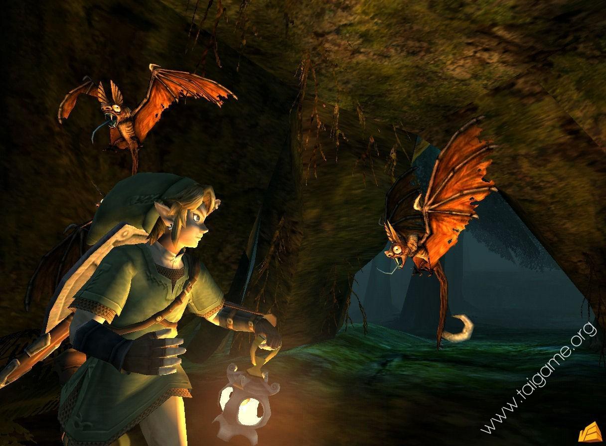 The legend of zelda twilight princess tai game - Link dans zelda ...