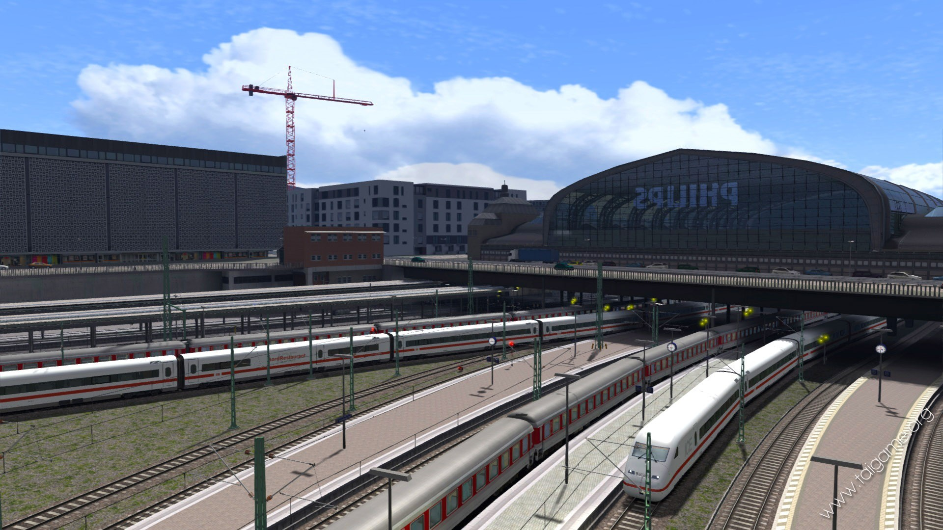 train simulator class 325 how to drive