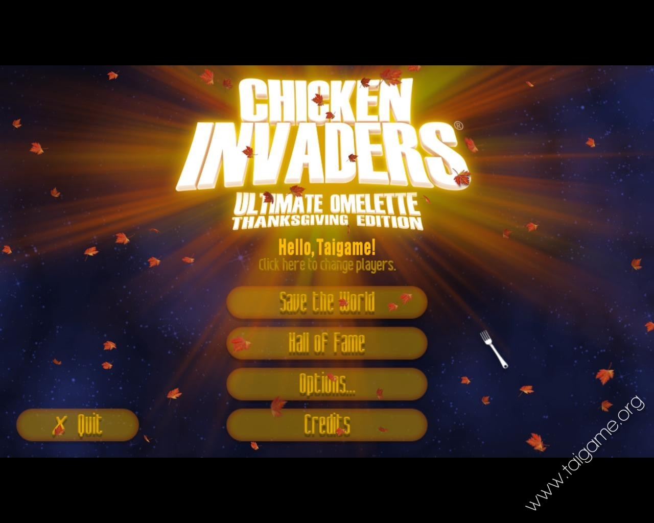 Chicken invaders 4 ultimate omelette thanksgiving edition free.