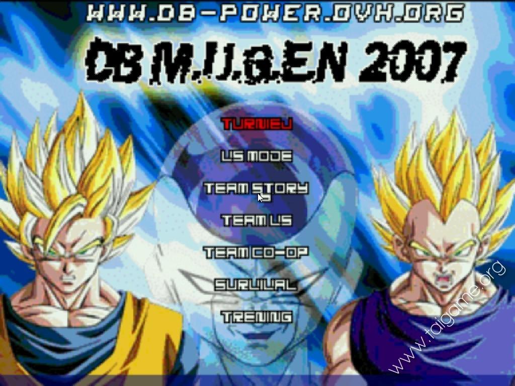 Dragon ball z mugen edition 2007 download free full games.