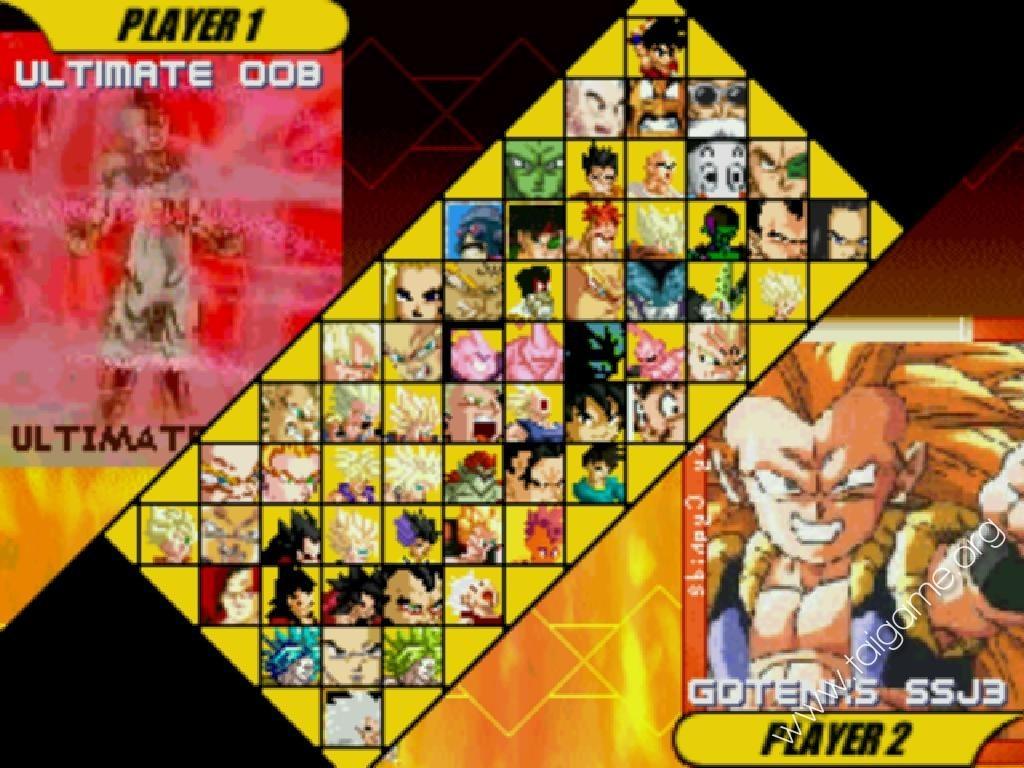 Un videojuego MUGEN con los protagonistas de Dragon Ball Z