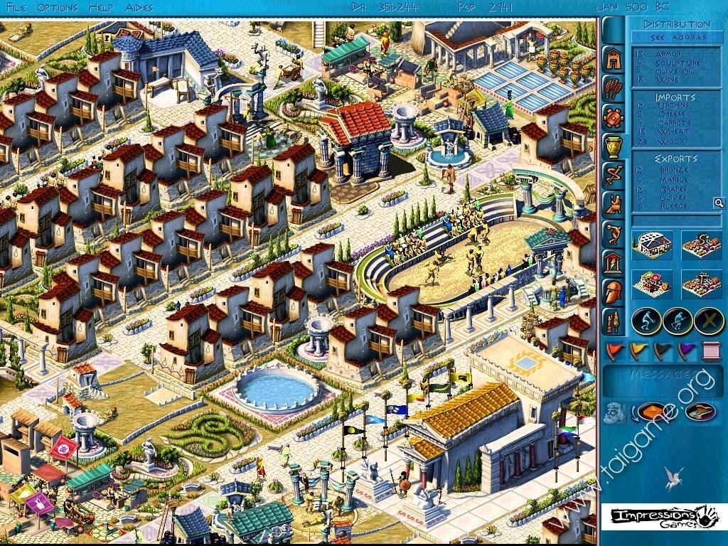 Sierra Games City Building Series