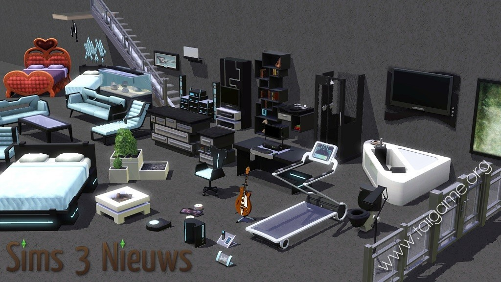 sims 3 high end loft stuff free download