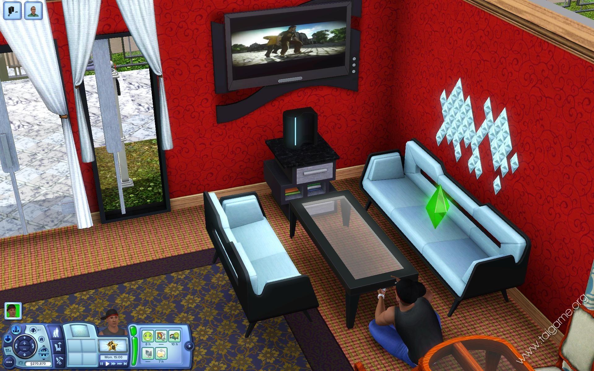 the sims 3 high-end loft stuff full