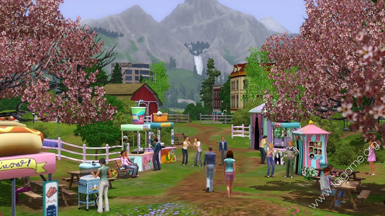 The Sims 3: Outdoor Living Stuff - Tai game | Download game