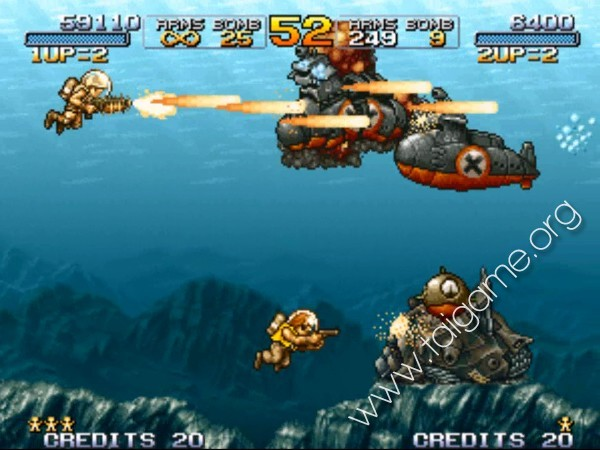 Main Game Metal Slug Online