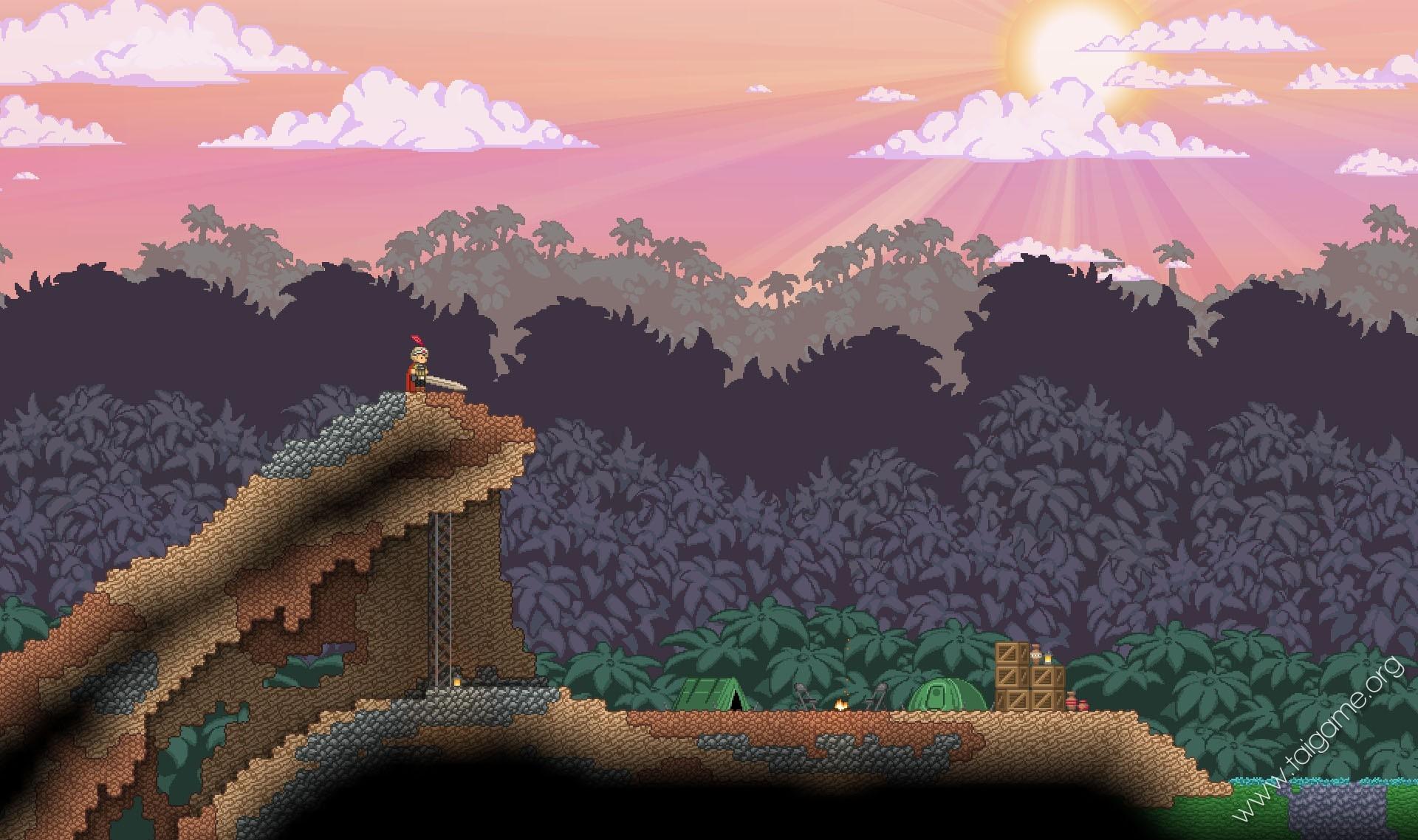 Tree Farm Frackin Universe Starbound Minimap Wwwpicsbudcom