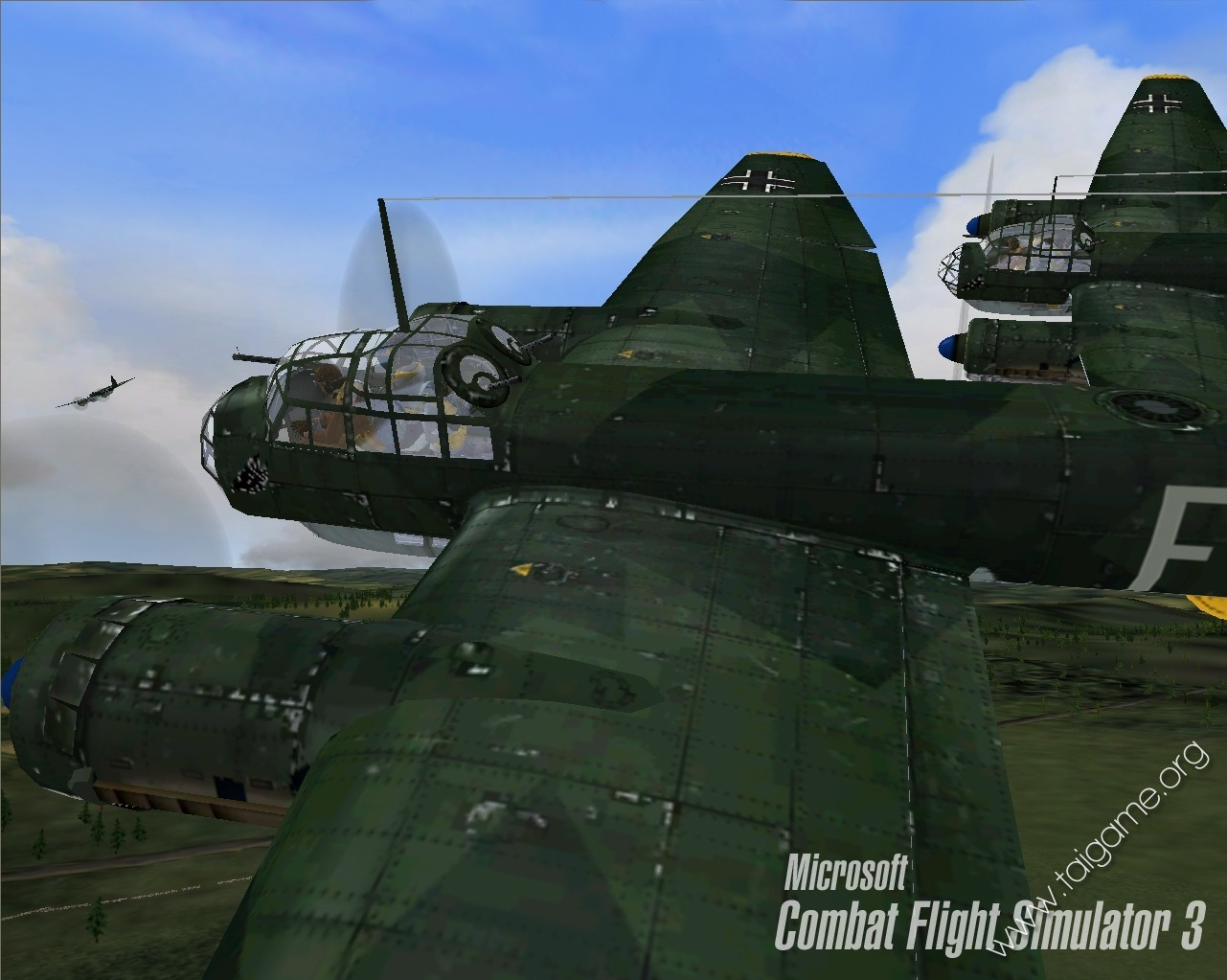 Combat flight simulator 3: battle for europe democracy