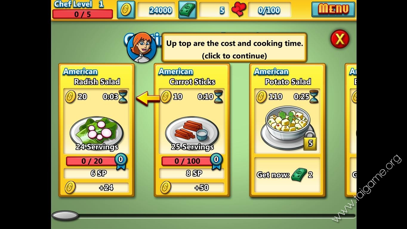cooking academy restaurant royale free download