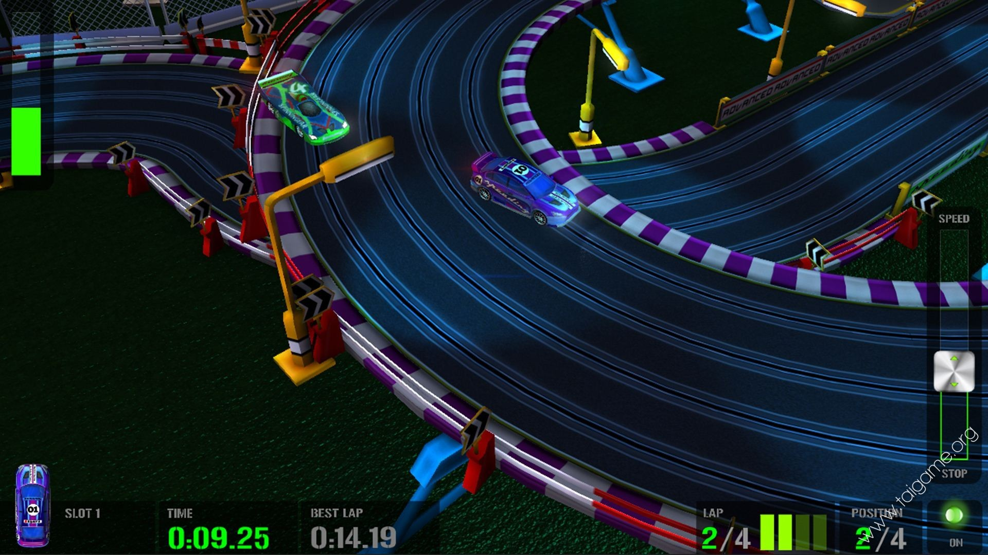 Slot car game online