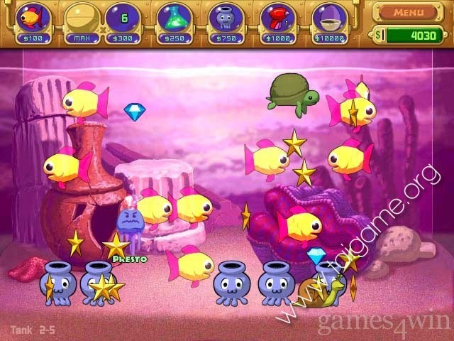Insaniquarium deluxe nu i c ti n download free for Feed and grow fish free download full game