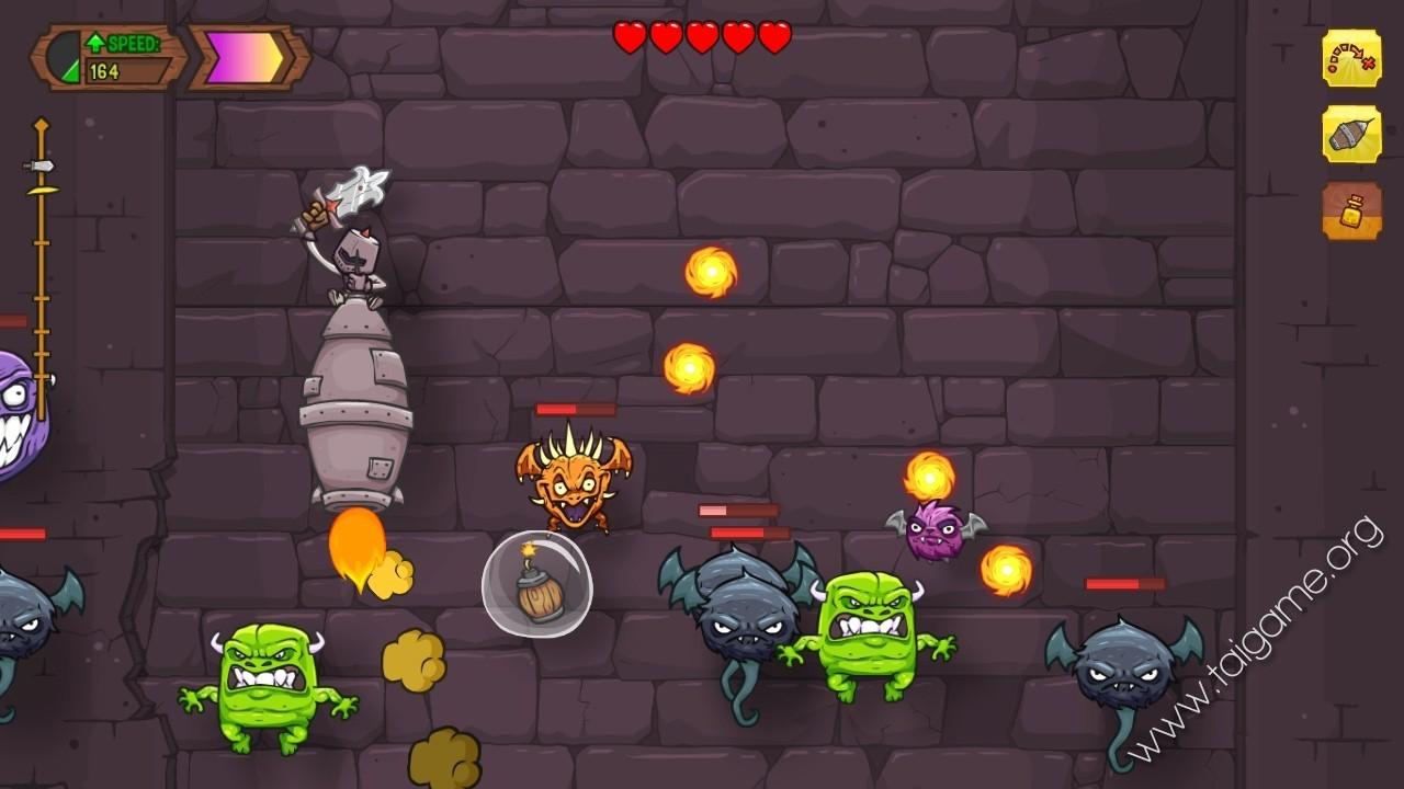 Play Knightmare Tower, a free online game on Kongregate
