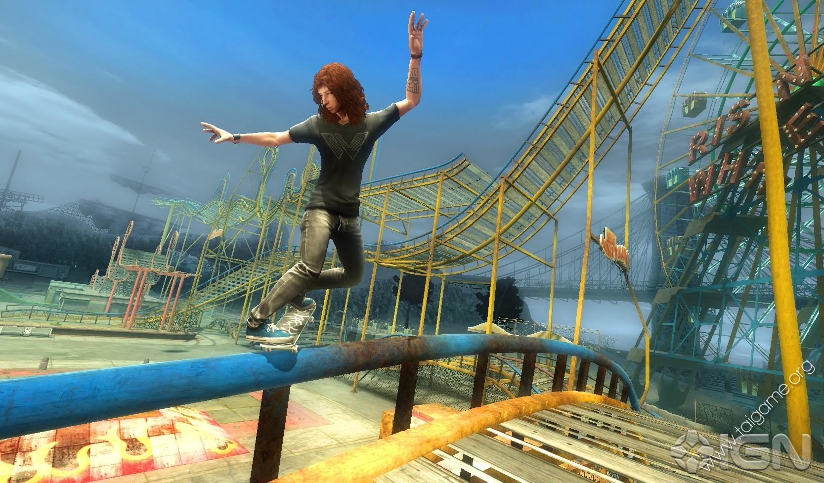 Shaun White Skateboarding - Tai game   Download game Thể thao