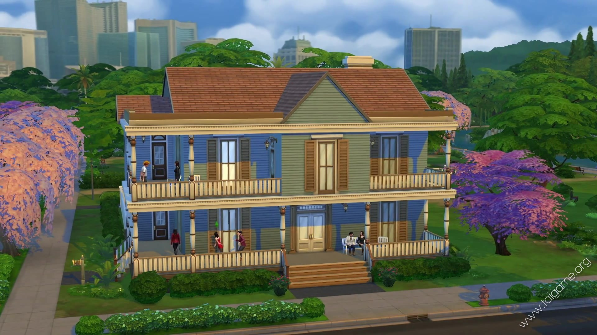 The sims 4 deluxe edition download free full games for Creek house
