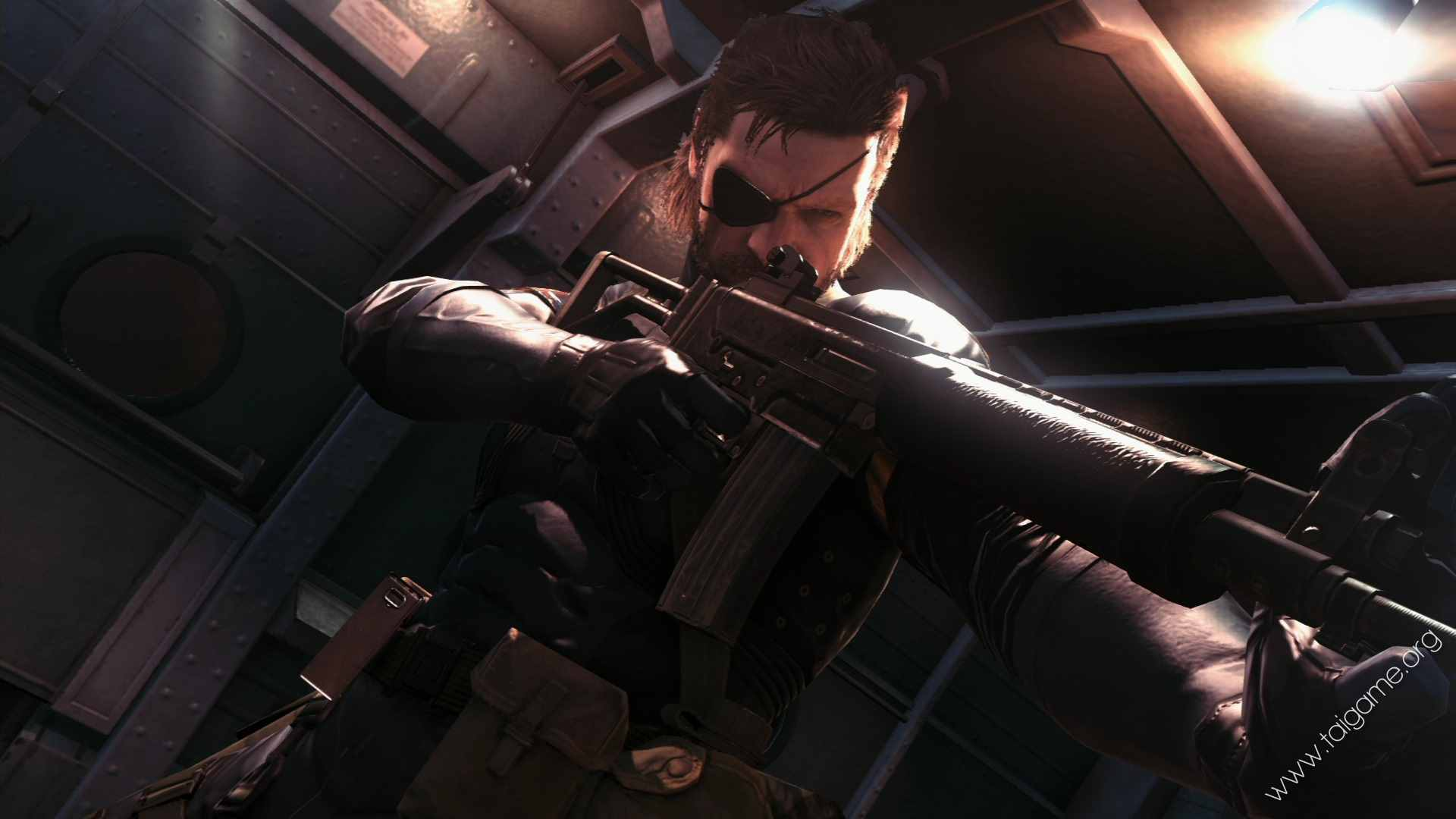 Metal Gear Solid Ground Zeroes Video Game 4k Hd Desktop: Metal Gear Solid V: Ground Zeroes