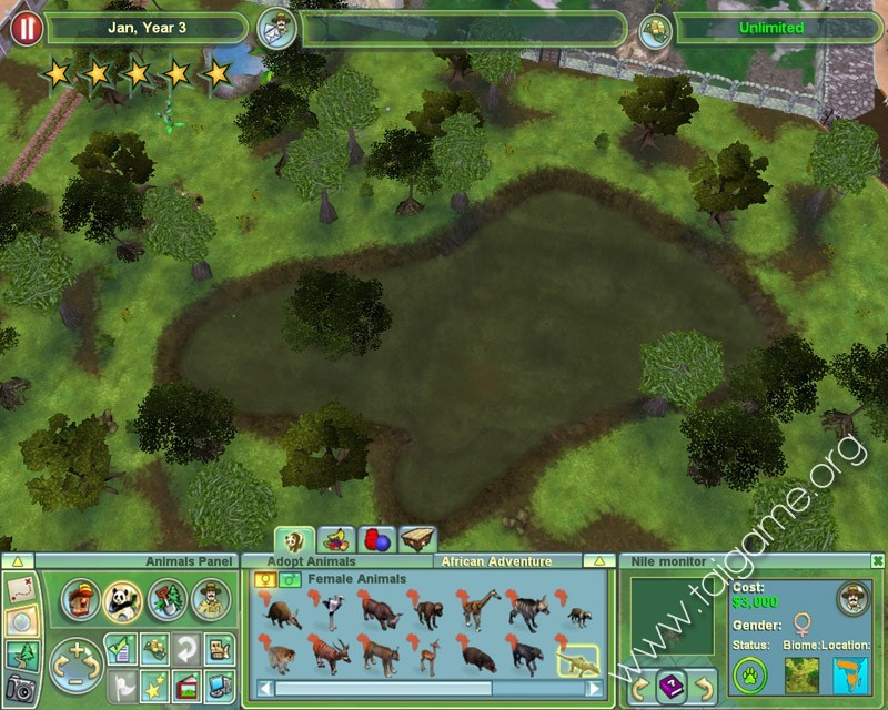 Zoo Tycoon 2: African Adventure - Download Free Full Games