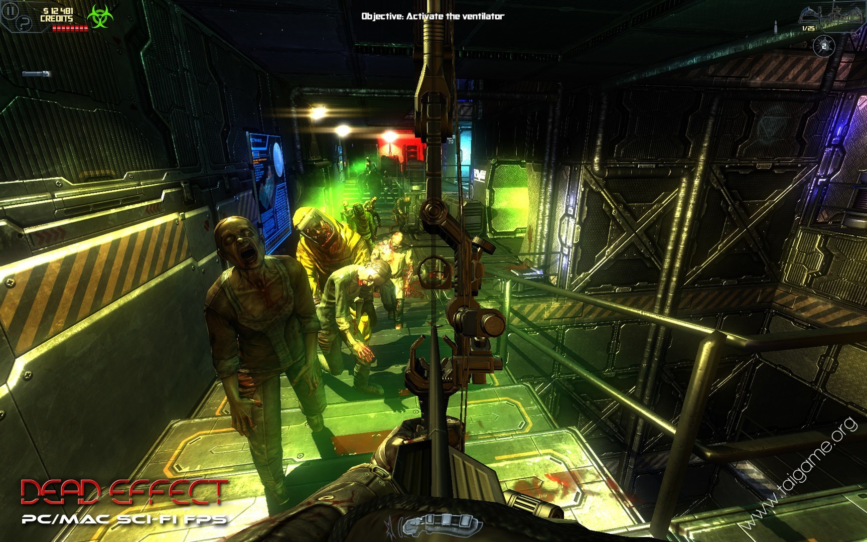 Dead Effect for Android, Survive a Zombie Invasion in Space